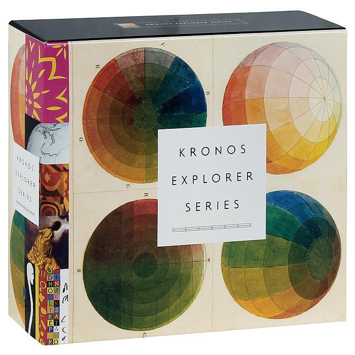 Kronos Quartet,Дэвид Харрингтон,Джон Шерба,Ханк Дутт,Дженннифер Чалп Kronos Quartet. Explorer Series (5 CD) виниловая пластинка kronos quartet pieces of africa