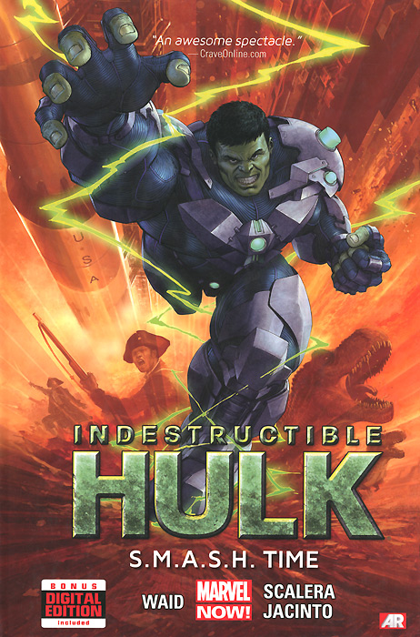Indestructible Hulk: Volume 3: S.M.A.S.H. Time bela 10241 super heroes avengers hulk lab smash set with taskmaster falcon hulk thor turret robot modok action figure toys
