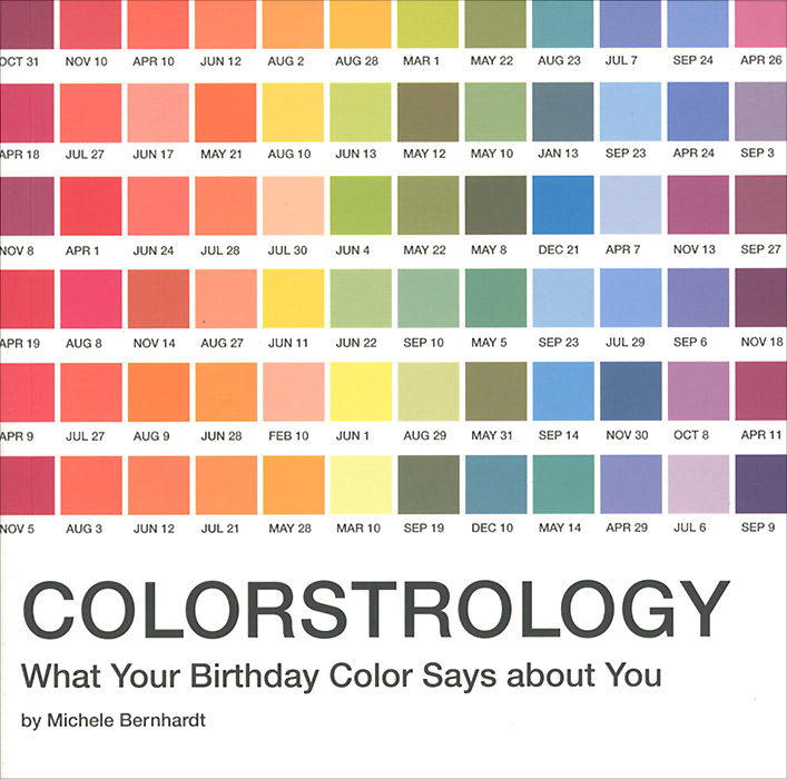 Colorstrology: What Your Birthday Color Says about You 30pcs in one postcard take a walk on the go dubai arab emirates christmas postcards greeting birthday message cards 10 2x14 2cm