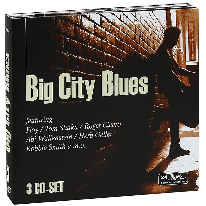Ларс-Луис Линек,Floy,Мартин Шеффлер,Lars-Luis Linek Band,Аби Валленштейн,Роже Цицеро Lars-Luis Linek. Big City Blues (3 CD) luis cepeda girona