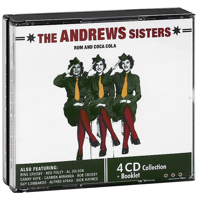 The Andrews Sisters.  Rum And Coca Cola (4 CD) Intense Media Ltd.,Концерн
