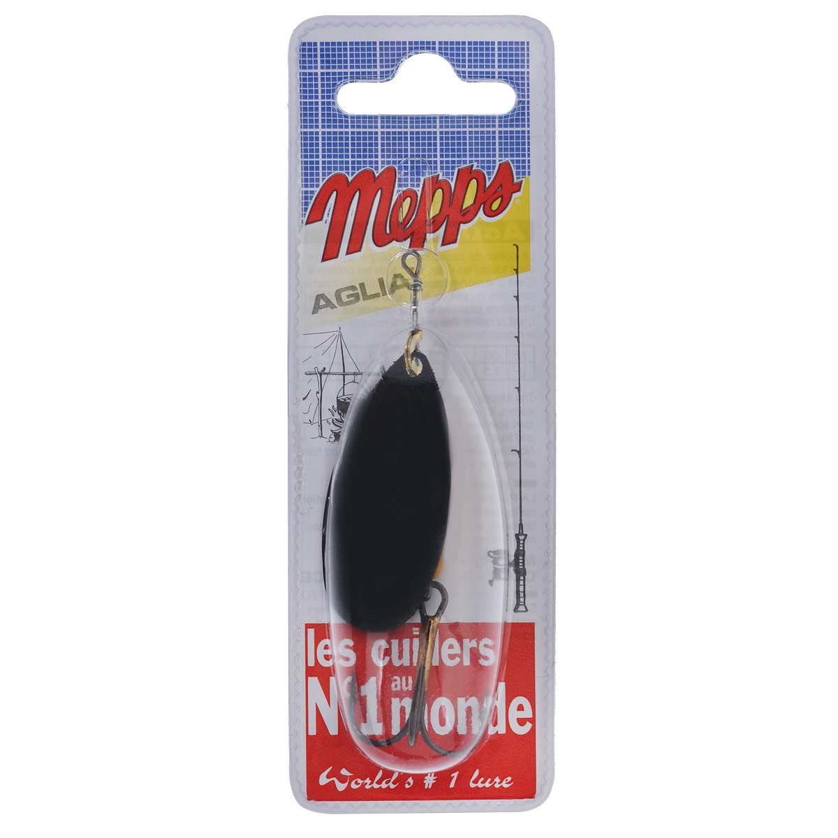 Блесна Mepps Aglia NR, вращающаяся, №5, 13 г mepps блесна вращ mepps aglia longue heavy cu nr oge блистер 3 24г lhe300fo31