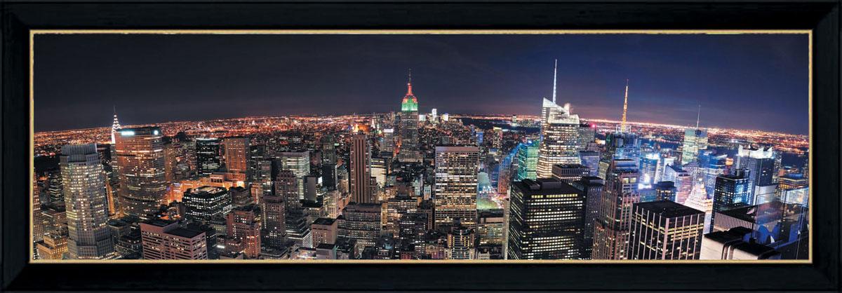 Постер в раме Postermarket Ночной город, 95 см х 33 смPM-3301Картина для интерьера (постер) - современное и актуальное направление в дизайне любых помещений.Постер с красочным изображением ночного города оформлен в раму черного цвета, выполненную из пластика. Картина защищена прозрачным пластиком. С задней стороны имеются петельки для подвешивания к стене.Картина может использоваться для оформления любых интерьеров: - дом, квартира (гостиная, спальня, кухня, прихожая, детская); - офис (комната переговоров, холл, кабинет); - бар, кафе, ресторан или гостиница. Картины, предоставляемые компанией Постермаркет:- собраны вручную из лучших импортных комплектующих; - надежно упакованы в пленку с противоударными уголками.