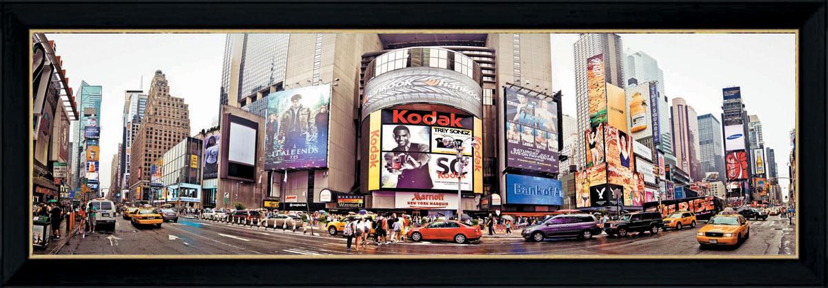 Постер в раме Postermarket Нью-Йорк, 33 см х 95 см постер в раме сказочная сова 40х40 см