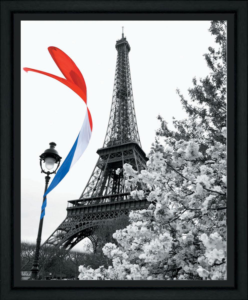 """Постер в раме Postermarket """"Париж"""", 40 см х 50 см, Постермаркет / Postermarket"""