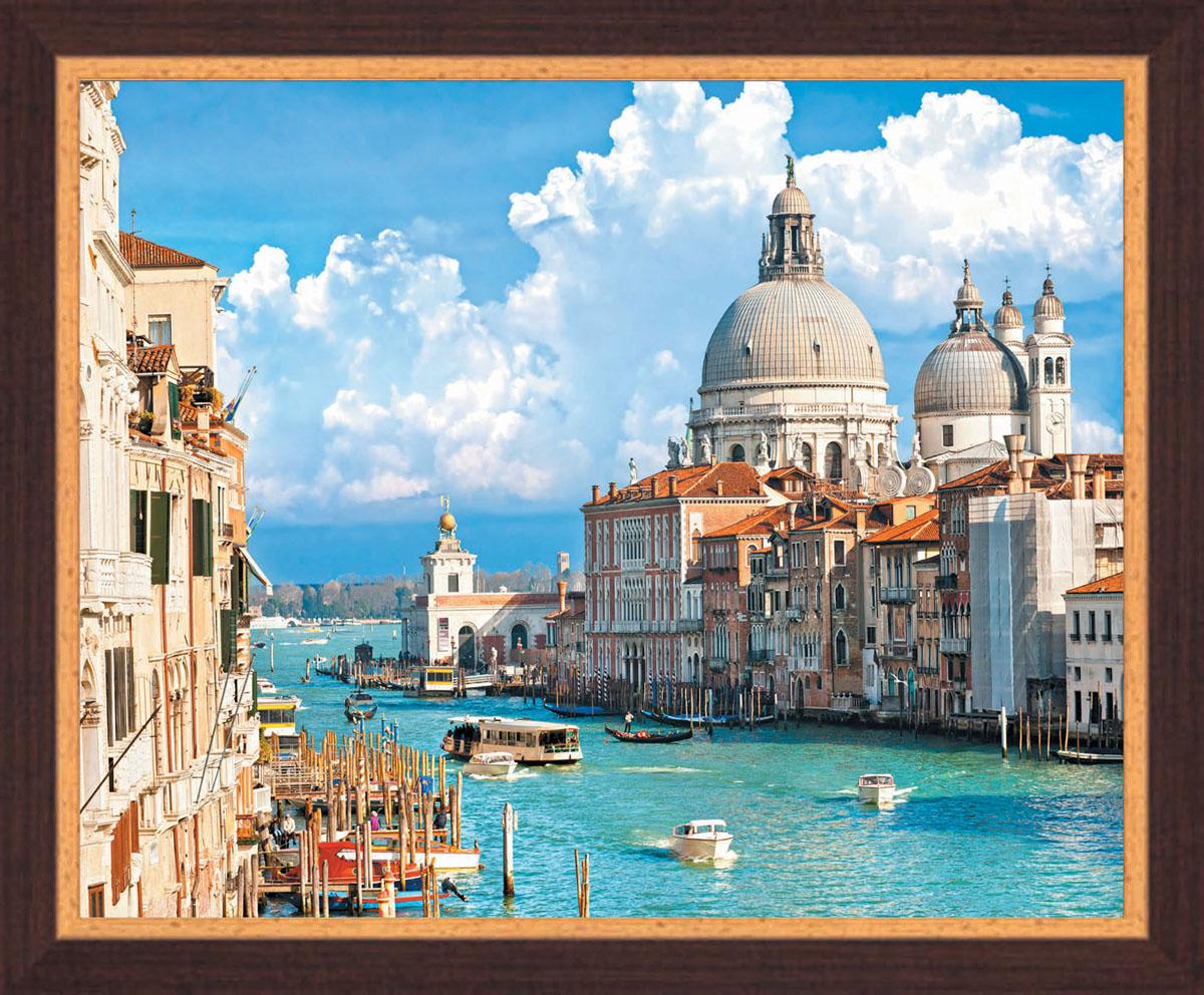 Постер в раме Postermarket Венеция, 50 х 40 смPM-4003Картина для интерьера (постер) - современное и актуальное направление в дизайне любых помещений.Постер с красочным изображением венецианских каналов оформлен в раму коричневого цвета, выполненную из пластика под дерево. Картина защищена прозрачным пластиком. С задней стороны имеется петелька для подвешивания к стене. Картина может использоваться для оформления любых интерьеров: - дом, квартира (гостиная, спальня, кухня, прихожая, детская); - офис (комната переговоров, холл, кабинет); - бар, кафе, ресторан или гостиница.Картины, предоставляемые компанией Постермаркет:- собраны вручную из лучших импортных комплектующих; - надежно упакованы в пленку с противоударными уголками.