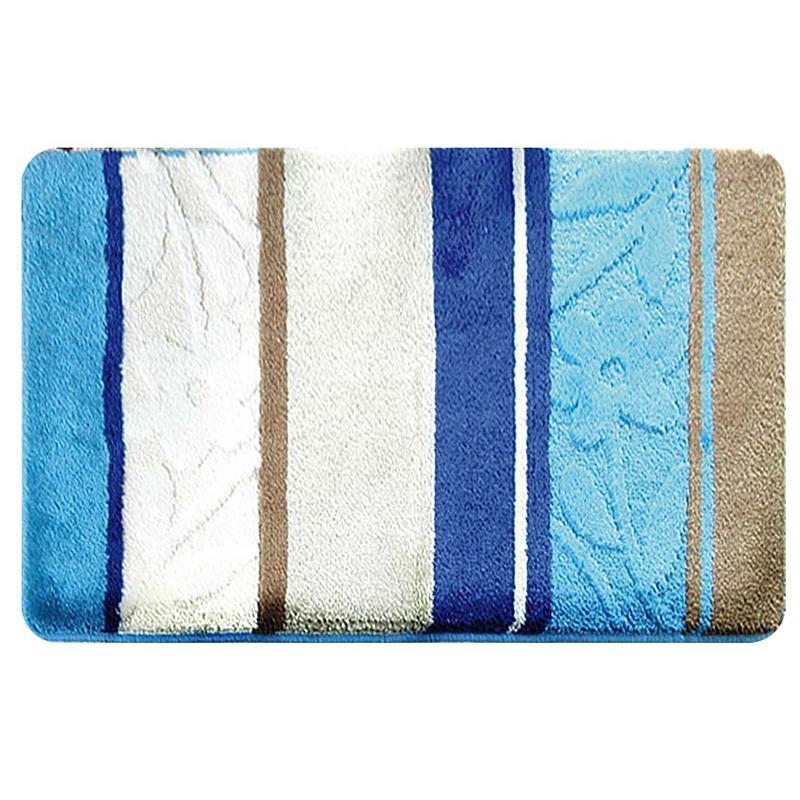 Коврик для ванной комнаты Milardo Seaside, 40 см х 70 см. MMI070AMMI070AКоврик для ванной комнаты Milardo Seaside выполнен из 100% акрила - прочного, долговечного материала, который быстро сохнет. Мягкий и приятный на ощупь коврик имеет латексную основу, благодаря которой он не скользит по полу. Края коврика обработаны оверлоком. Можно использовать на полу с подогревом.Коврик можно стирать в стиральной машине в щадящем режиме при температуре не выше 40°C отдельно от остального белья.