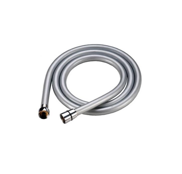 Шланг для душа Iddis, усиленный, 2 м. A5071120A50711 2.0Гибкий усиленный шланг Iddis выполнен из ПВХ. Стальная гильза препятствует расширению внутреннего диаметра шланга в месте его соединения со штуцером, предотвращая срыв шланга со штуцера.Система Twist-Free предотвращает перекручивание шланга, что позволяет комфортно принимать душ, а также продлевает срок службы изделия.Шланги комплектуются прокладкой с фильтром 100 мкм, который предотвращает засорение форсунок лейки. Толщина стенок шланга: 2,2 мм. Толщина стальной гильзы: 0,4 мм.Внешний диаметр шланга: 14 мм.Внутренний диаметр шланга: 8,5 мм.