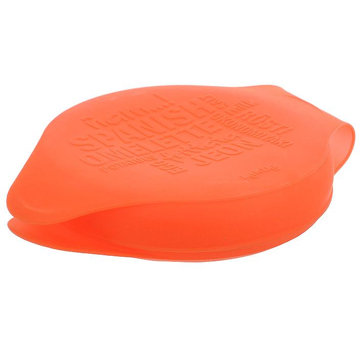 """Форма для испанского омлета """"Lekue"""" изготовлена из высококачественного силикона красного цвета - материала, который выдерживает температуру от -40°С до +230°С. Имеет круглую форму. Верхняя крышка украшена графическими символами, что придает форме интересный привлекательный дизайн. Форма идеальна для удобного и простого приготовления круглых блюд, которые необходимо пропекать или жарить с обеих сторон. Подходит для приготовления картофельных тортилий, лепешек, разных запеканок и других блюд. Идеально круглый испанский омлет вы сможете приготовить всего за несколько минут. Переворачивать форму в процессе приготовления просто и безопасно. Разработана в соответствии с исследованиями фонда Алисия лучших способов приготовления. Можно использовать в микроволновой печи, духовке и посудомоечной машине."""