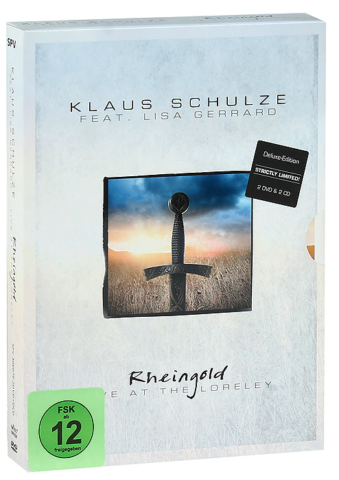 Klaus Schulze & Lisa Gerrard: Rheingold - Live At The Loreley (2 DVD + 2 CD) лосьон после бритья cool wave gillette лосьон после бритья cool wave