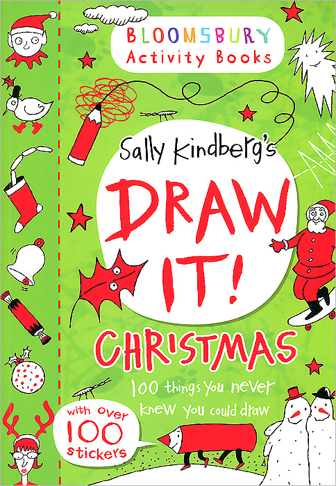 Draw It! Christmas: 100 Things You Never Knew You Could Draw скетчбук 30 листов dream and draw 1069016