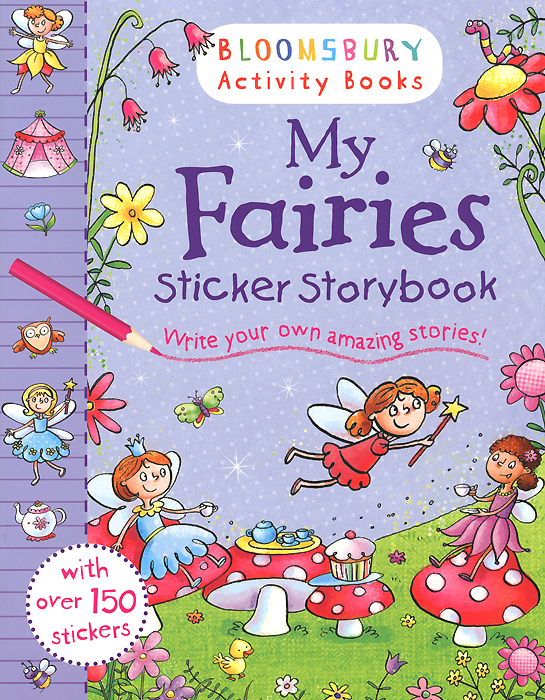 My Fairies: Sticker Storybook fairy ponies sticker and colouring book