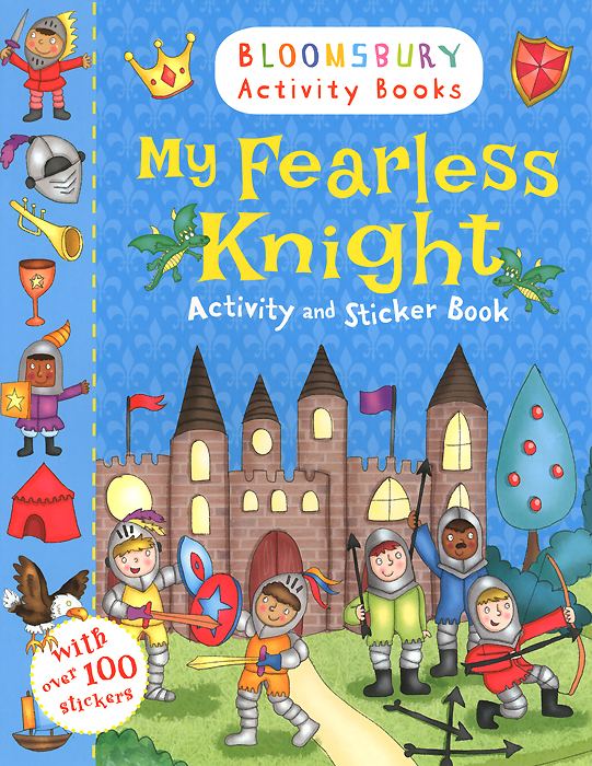 My Fearless Knight: Activity and Sticker Book my first dinosaur sticker activity book