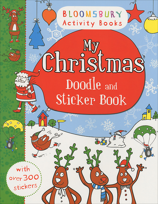 My Christmas: Doodle and Sticker Book minions the doodle book