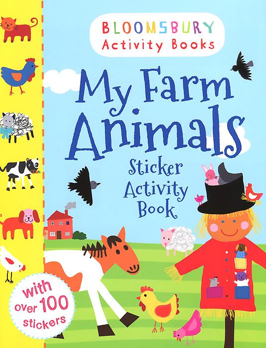 My Farm Animals: Sticker Activity Book my baby animals sticker activity book