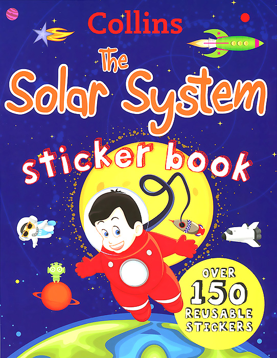 Collins the Solar System Sticker Book space activity book