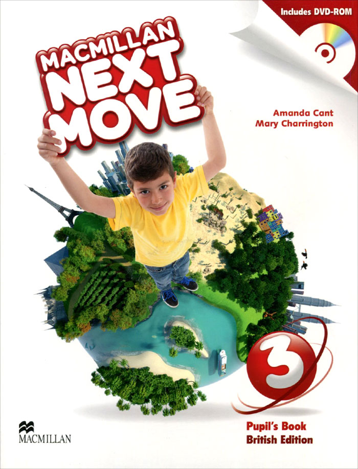 Macmillan Next Move 3: Pupil's Book (+ DVD-ROM) oxford grammar for schools 2 dvd rom