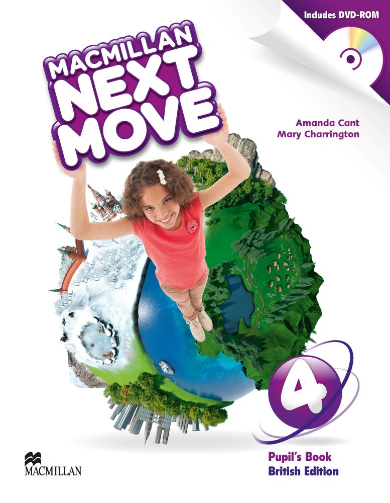 Next Move British English Level 4 SB Book Pack english adventure level 4 pipil s book