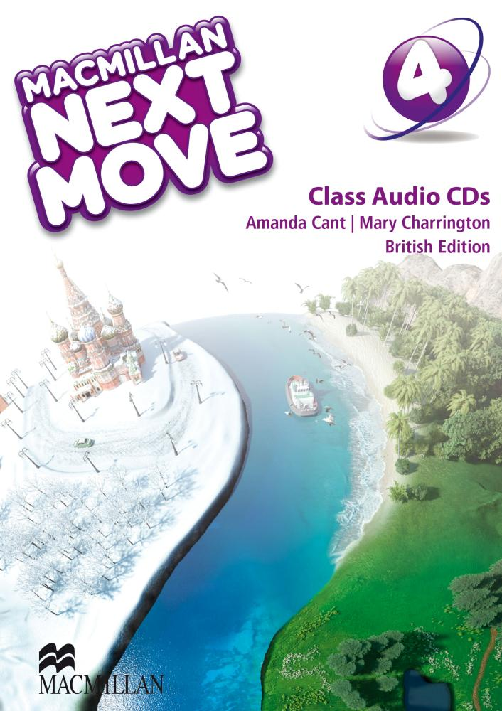 Next Move British English Level 4 Class Audio CD mastering english prepositions