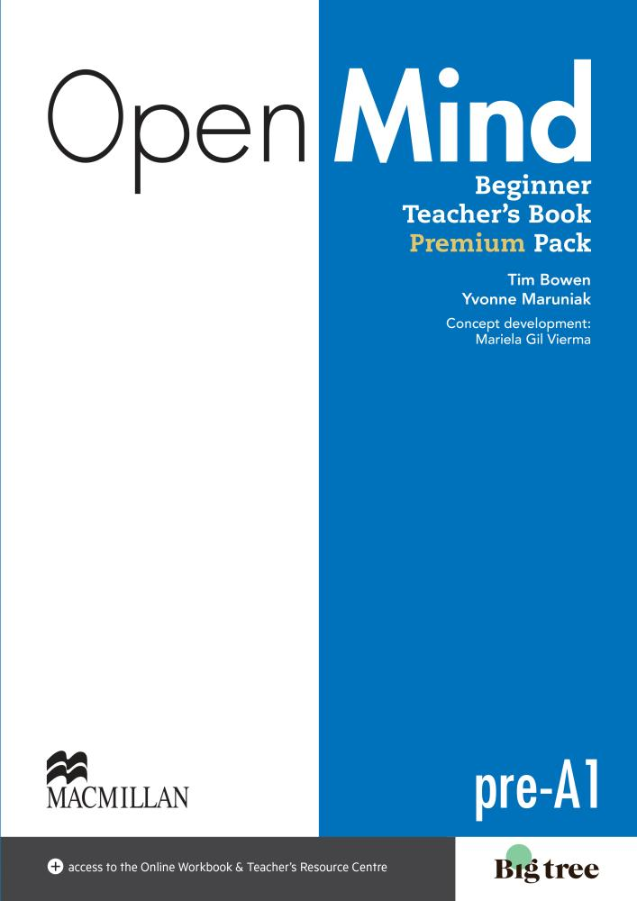 Open Mind: Beginner Teacher's Book: Premium Pack: Level A1 (+ DVD, CD)