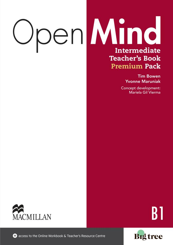 Open Mind: Intermediate: Teacher's Book (+ DVD-ROM и CD) choices pre intermediate teacher s book dvd rom