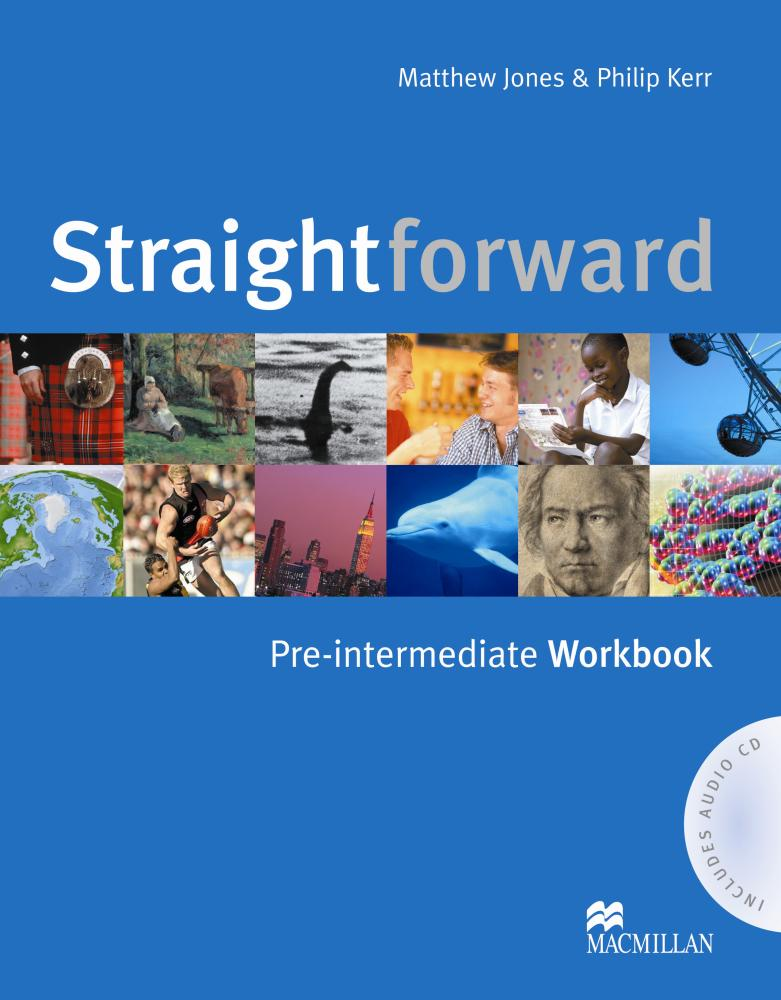 Straightforward: Pre-Intermediate Workbook (+ аудиокурс на CD) clare a new total english intermediate workbook with key cd