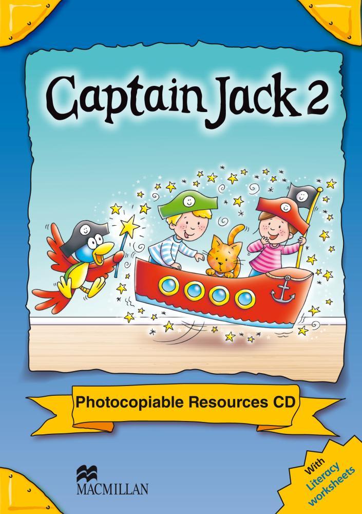 Captain Jack   Captain Jack 2 Photocopiable CD ROMs alki 2 captain gold