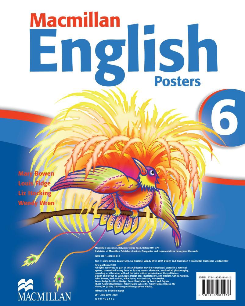 Mac Eng 6 Posters mac eng 6 practice book r
