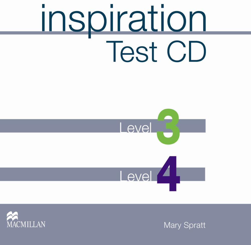 Inspiration 3 & 4  Test CD team up starter 1 test resource audio cd test maker cd rom