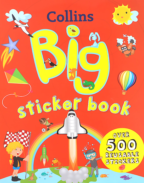 Collins Big Sticker Book 7 inch tablet digma optima 7 21 3g tt7021pg lcd display matrix 163 97mm 50pin 1026 600 lcd display screen panel freeshipping