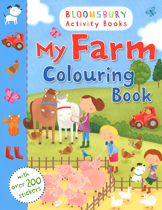 My Farm: Colouring Book maisy s farm sticker book