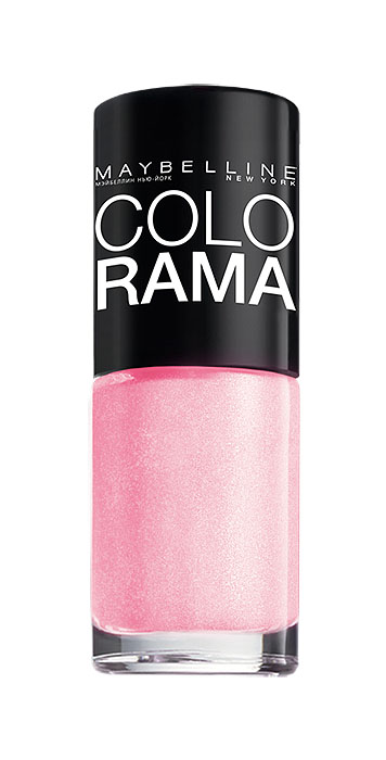 "Maybelline New York Лак для ногтей ""Colorama"", оттенок 69, Розовое сияние, 7 мл"