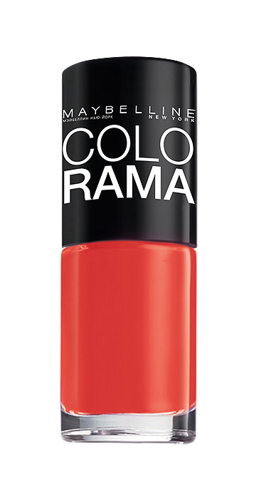Maybelline New York Лак для ногтей Colorama, оттенок 352, Закат в Марокко, 7 млB2200703Самая широкая палитра оттенков новых лаков Колорама. Яркие модные цвета с подиума.Новая формула лака Колорама обеспечивает стойкое покрытие и создает еще более дерзкий, насыщенный цвет, который не тускнеет.Усовершенствованная кисточка для более удобного и ровного нанесения, современная упаковка.Лак для ногтей Колорама не содержит формальдегида, дибутилфталата и толуола.