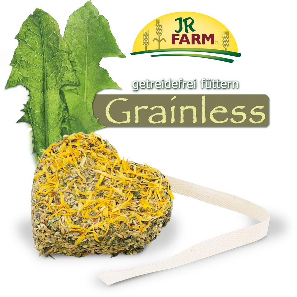 Лакомство для грызунов JR Farm Grainless. Сердце с лепестками, 90 г, арт.13578 камень для шиншилл jr farm жевательный 50 г