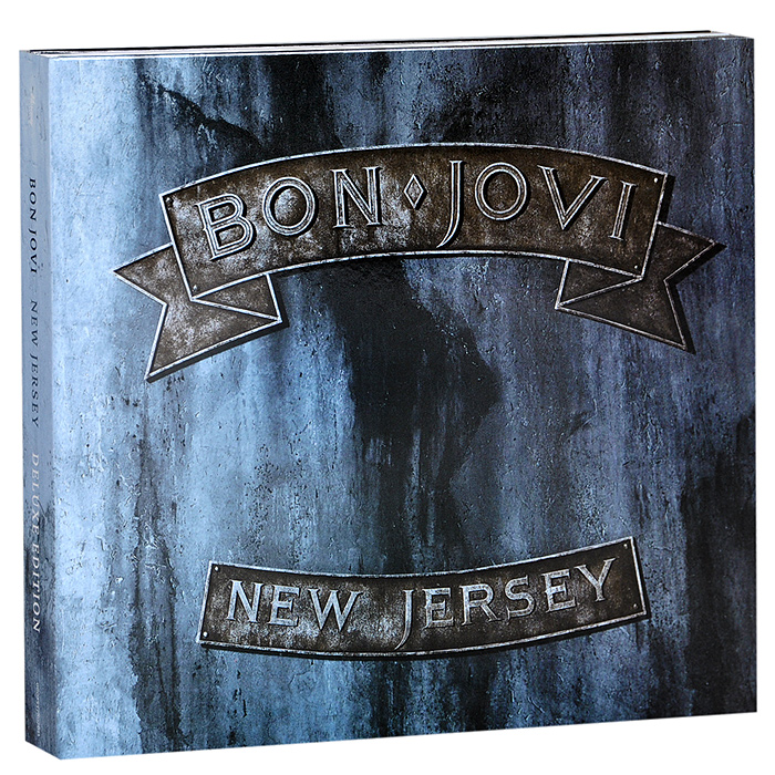Bon Jovi Bon Jovi. New Jersey. Deluxe Edition (2 CD) энрике иглесиас enrique iglesias greatest hits deluxe edition cd dvd
