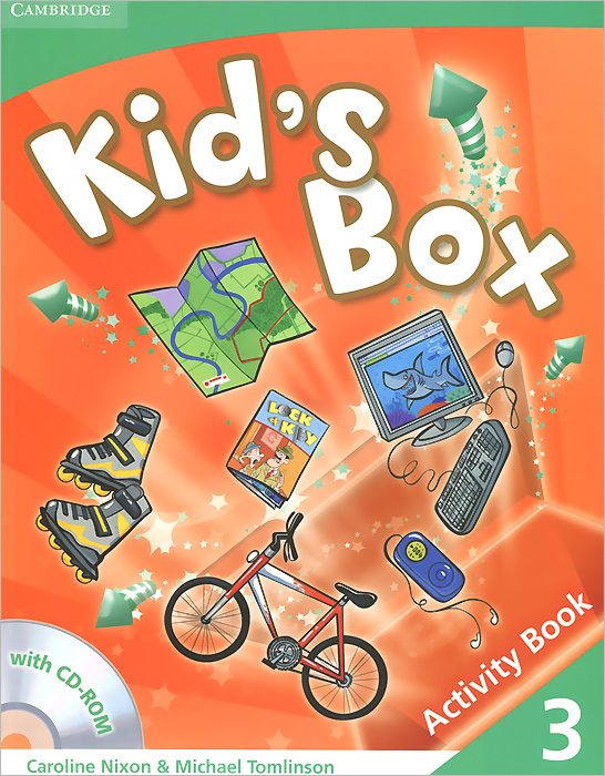 Kid's Box: Level 3: Activity Book (+ CD-ROM) merry team 6 activity book audio cd