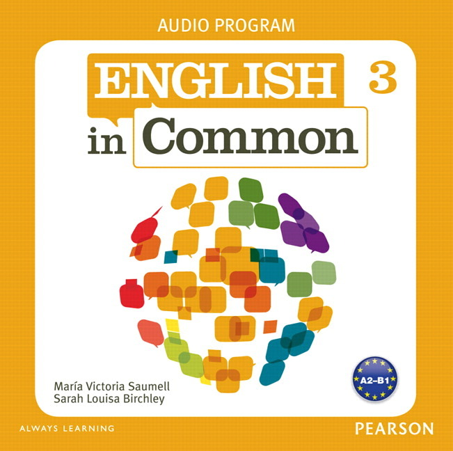 English in Common 3 Cl Audio CDs common
