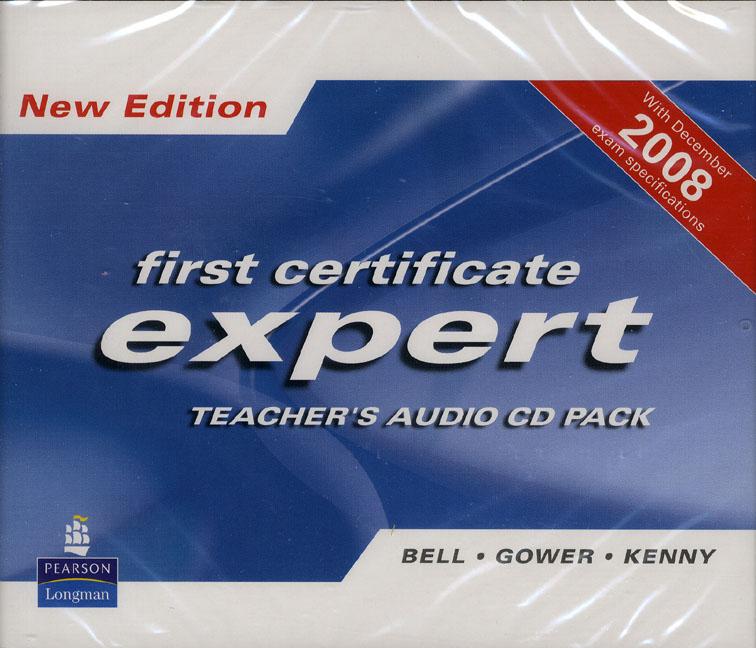 FCE Expert NEd Teacher's CD x 4 advanced expert coursebook 4 cd