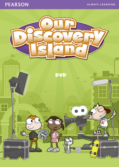 Our Discovery Island 3 DVD our discovery island 4 active teach