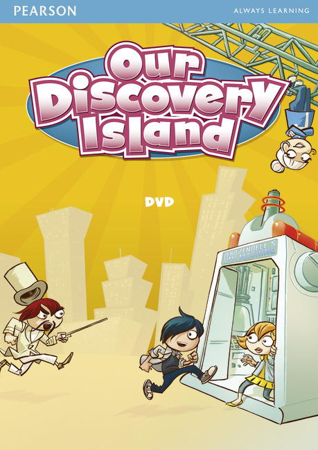 Our Discovery Island 5 DVD our discovery island level 4 cd rom