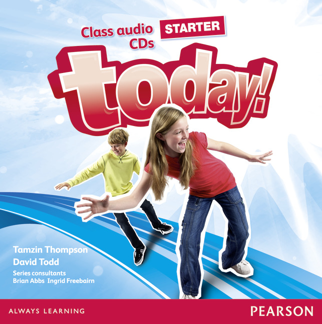 Today! Starter: Class Audio CDs (аудиокурс на 2 CD) welcome starter a class cd для занятий в классе cd