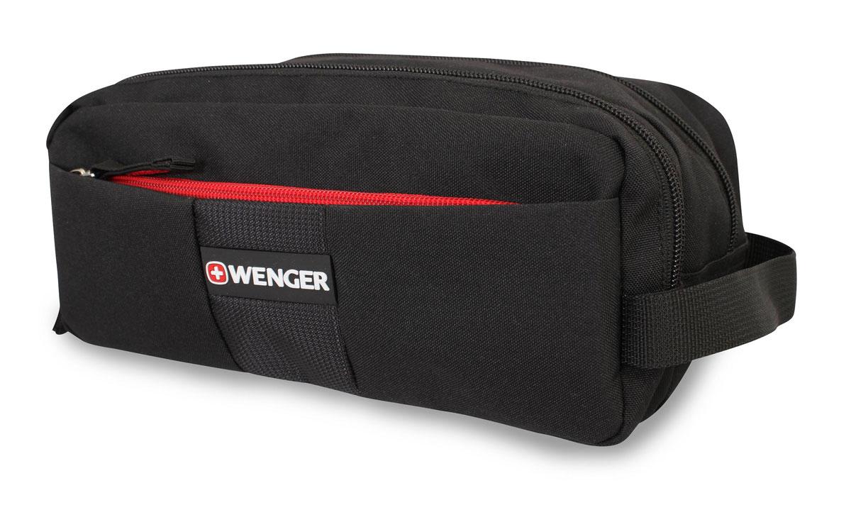 Несессер Wenger, цвет: черный, 26 см x 16 см x 15 см - Несессеры и кошельки