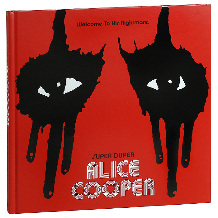 Alice Cooper: Super Duper Alice Cooper. Welcome To His Nightmare (2 DVD + Blu-ray + CD) john cooper clarke manchester