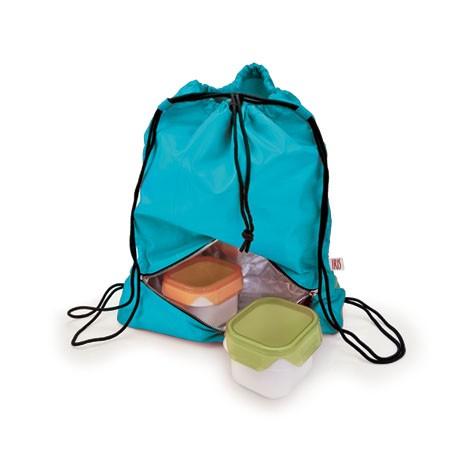 Рюкзак-термоланчбокс Iris Barcelona Daily Bag, цвет: бирюзовый9672-TTЭто рюкзак для ежедневного использования, который будет с вами 24 часа в сутки!Берите его с собой всюду, на работу, на учебу, в спортзал и в любые поездки. Верхнее вместительное отделение позволит положить все необходимые вещи, а с помощью удобного шнурка с фиксатором вы быстро затянете горловину рюкзака. В нижней части расположено термоотделение для еды, закрывающееся на молнию. Оно настолько вместительное, что позволяет взять с собой литровую емкость с напитком, несколько бутербродов, баночку йогурта и прочие закуски.Универсальный дизайн позволяет носить тремя способами: как сумку-мешок в руке или на одном плече, а также как обычный рюкзак за плечами.