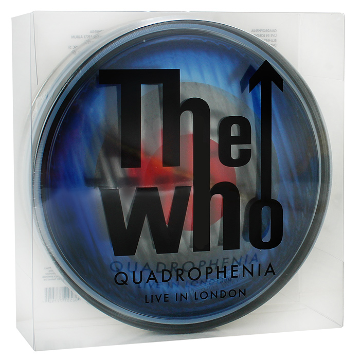 The Who: Quadrophenia - Live In London (2 Blu-ray + DVD + 2 CD) dvd диск igor moisseiev ballet live in paris 1 dvd