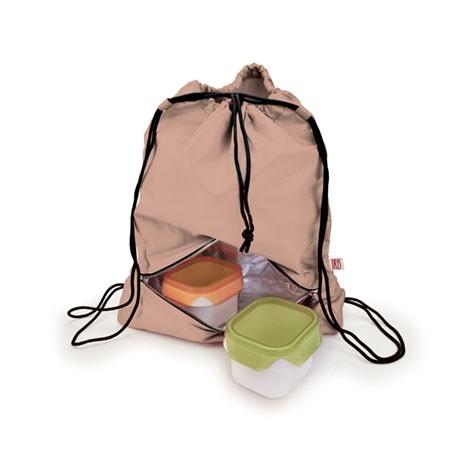 Рюкзак-термоланчбокс Iris Barcelona Daily Bag, цвет: бежевый9672-TCЭто рюкзак для ежедневного использования, который будет с вами 24 часа в сутки!Берите его с собой всюду, на работу, на учебу, в спортзал и в любые поездки. Верхнее вместительное отделение позволит положить все необходимые вещи, а с помощью удобного шнурка с фиксатором вы быстро затянете горловину рюкзака. В нижней части расположено термоотделение для еды, закрывающееся на молнию. Оно настолько вместительное, что позволяет взять с собой литровую емкость с напитком, несколько бутербродов, баночку йогурта и прочие закуски.Универсальный дизайн позволяет носить тремя способами: как сумку-мешок в руке или на одном плече, а также как обычный рюкзак за плечами.