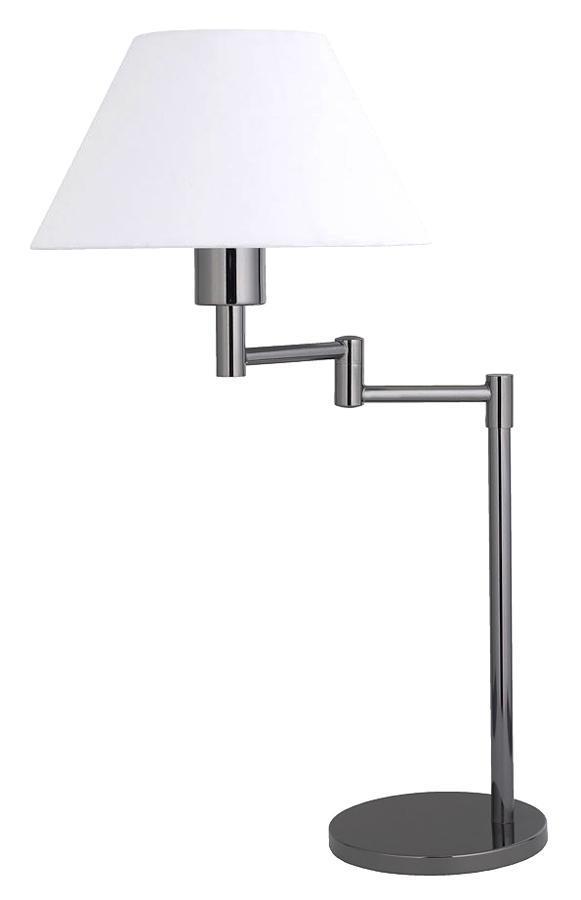 Настольный светильник LAMPGUSTAF SWING 099002099002099002 Настольная лампа, SWING, чёрный хром, E26 1*60W
