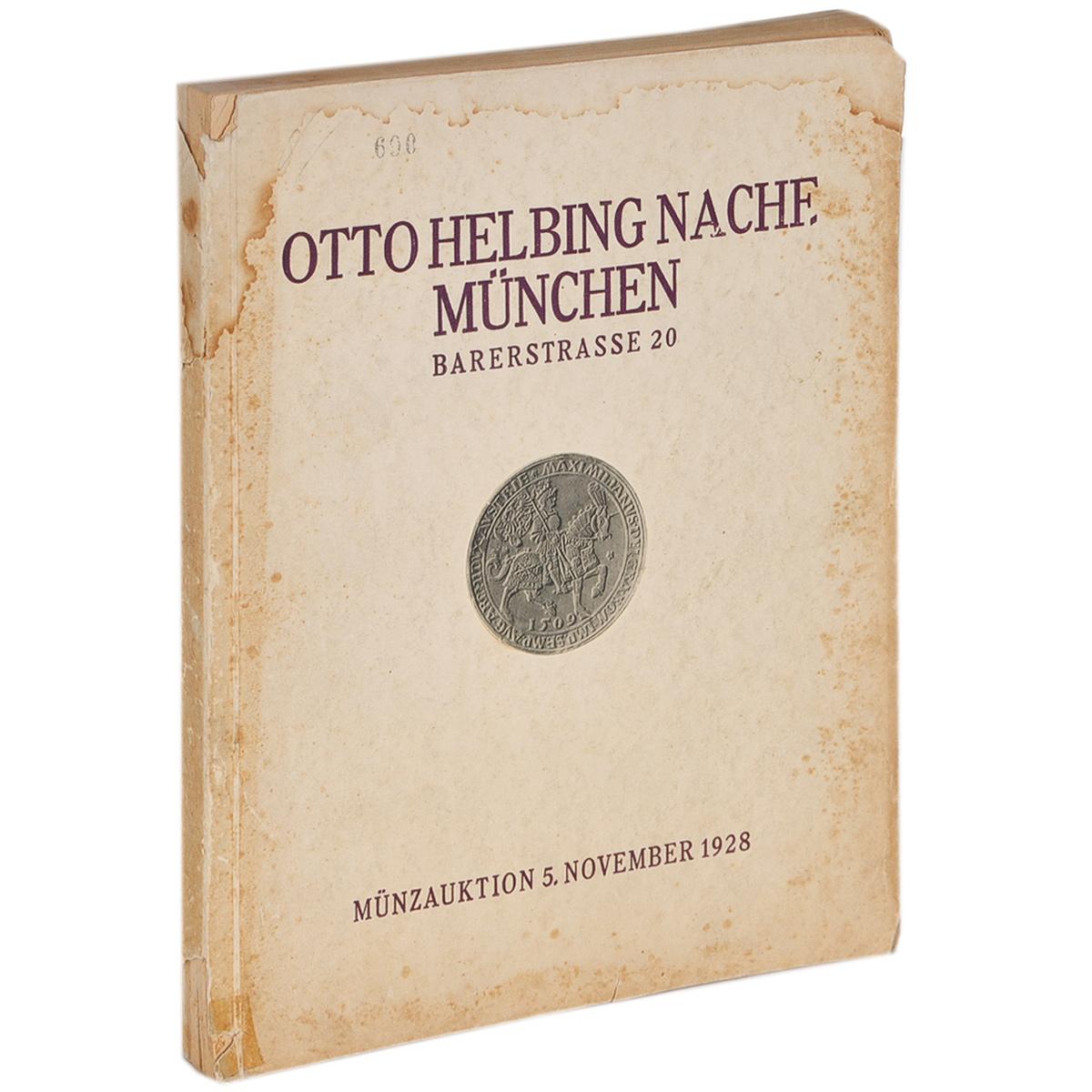 Фото Bedeutende Sammlung von Munzen und Medaillen: Katalog