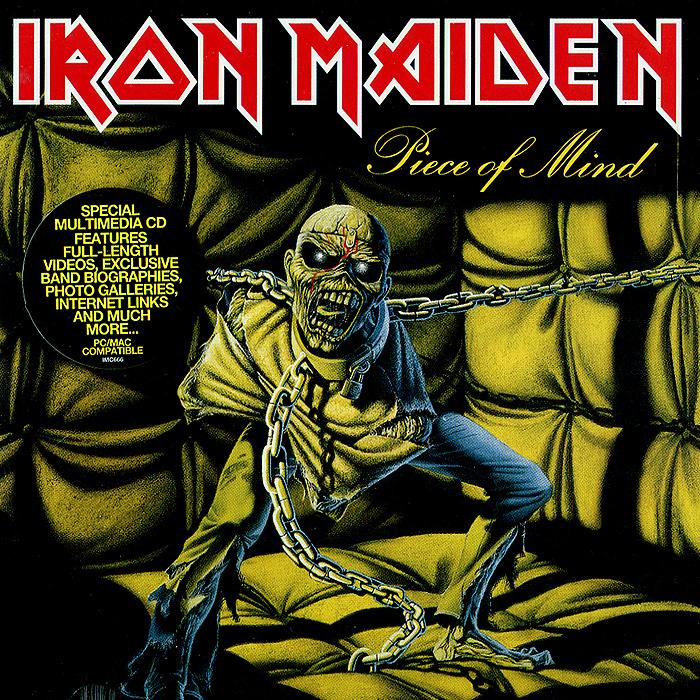 Iron Maiden Iron Maiden. Piece Of Mind iron maiden iron maiden the final frontier