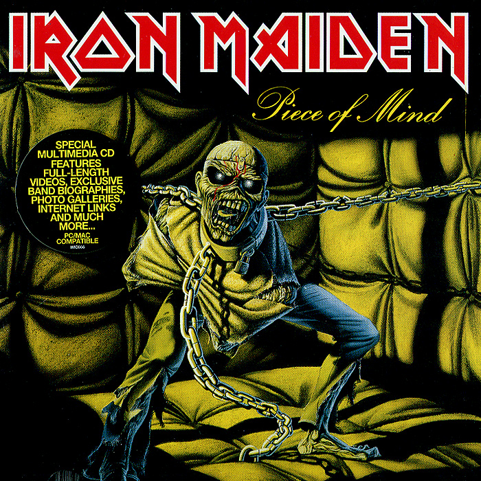 Iron Maiden Iron Maiden. Piece Of Mind cd iron maiden dance of death